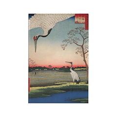 Japanese Cranes Vertical Magnets (10 pack)
