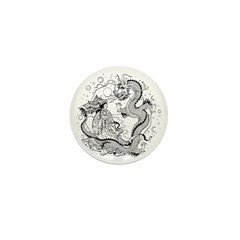 Dragon Lady Mini Button (10 pack)