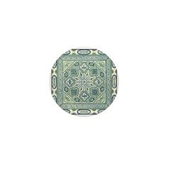 China (Blue) Mini Button (10 pack)
