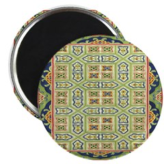 """China (Green) 2.25"""" Magnet (10 pack)"""