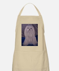 Maltese Magic BBQ Apron