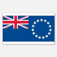 Cook Islands Rectangle Decal