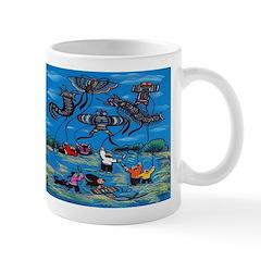 Flying Kites Mug