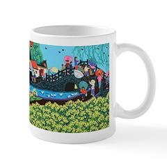 Chinese Folkart Mug