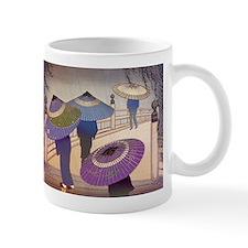 Rain Blossoms Small Mug