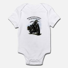 oldtimer motorcycle Infant Bodysuit