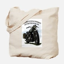 oldtimer motorcycle Tote Bag