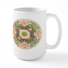 Chinese Floral Mug