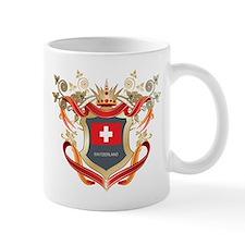 Swiss flag emblem Mug