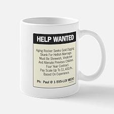 oddFrogg Help Wanted Mug