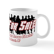 "True Romance ""Heroes for Sale Mug"