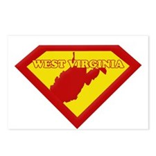 Super Star West Virginia Postcards (Package of 8)