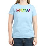 Obama Rainbow Pop Women's Light T-Shirt