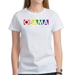 Obama Rainbow Pop Women's T-Shirt