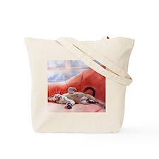 Cute Cat paintings Tote Bag