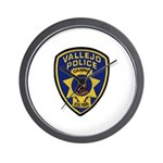 Vallejo PD Canine Wall Clock