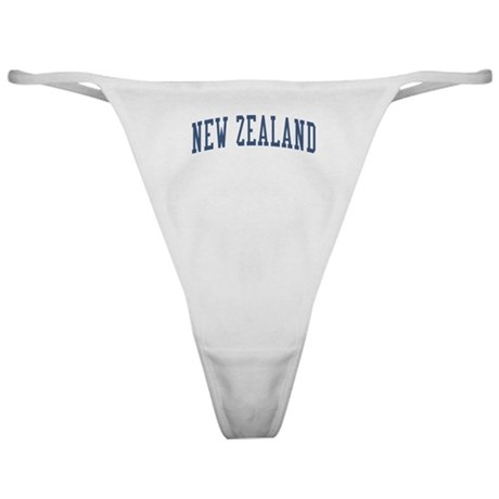 New Zealand Blue Classic Thong