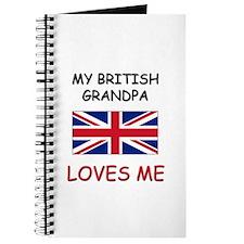 My British Grandpa Loves Me Journal