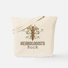 Neurologists Rock Caduceus Tote Bag