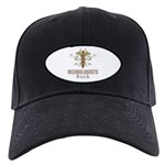 Neurologists Rock Caduceus Black Cap