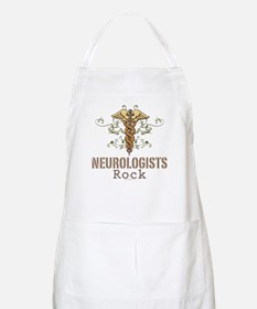 Neurologists Rock Caduceus BBQ Apron