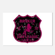 Broker Diva League Postcards (Package of 8)