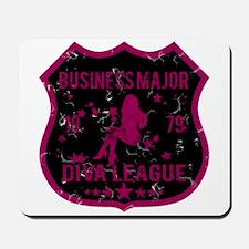 Business Major Diva League Mousepad