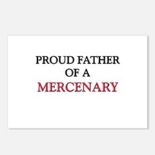 Proud Father Of A MERCENARY Postcards (Package of