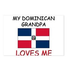 My Dominican Grandpa Loves Me Postcards (Package o