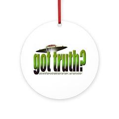 got truth? (green) Ornament (Round)
