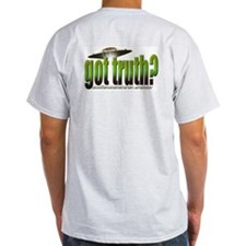 got truth? (green) Ash Grey T-Shirt