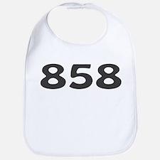 858 Area Code Bib