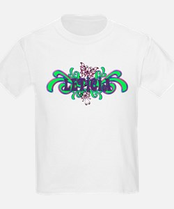 Leticia's Butterfly Name Kids T-Shirt