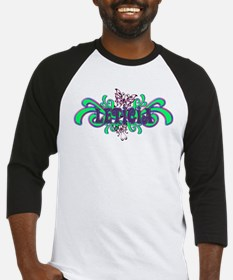 Leticia's Butterfly Name Baseball Jersey