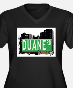 DUANE ROAD, QUEENS, NYC Women's Plus Size V-Neck D