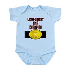 Light-Weight Champion Belt Infant Bodysuit