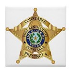 Fort Bend Constable Tile Coaster