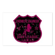 Chemical Engineer Diva League Postcards (Package o