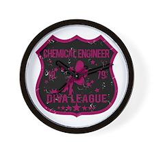 Chemical Engineer Diva League Wall Clock