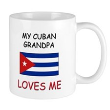 My Cuban Grandpa Loves Me Mug