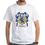 Bagnall Coat of Arms White T-Shirt
