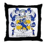 Bagnall Coat of Arms Throw Pillow
