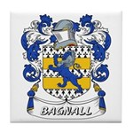 Bagnall Coat of Arms Tile Coaster