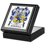 Bagnall Coat of Arms Keepsake Box