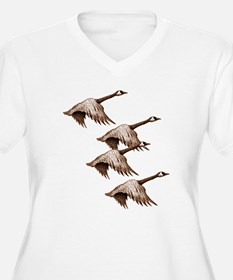 Canada Geese Flying T-Shirt