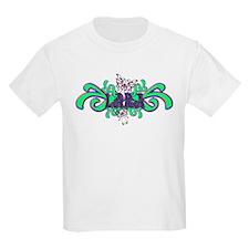 Lara's Butterfly Name Kids T-Shirt
