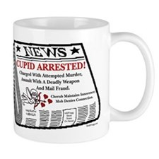 oddFrogg Cupid Arrested Mug