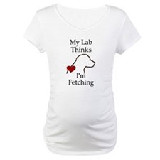 My Lab Thinks.... Shirt