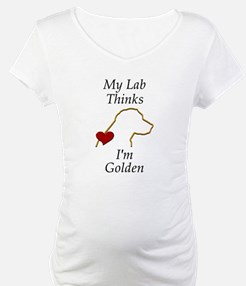 My (Golden) Lab... Shirt