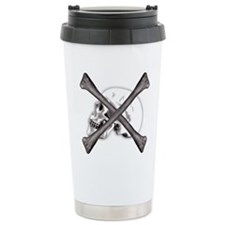 Skull and Crossbones Travel Mug
